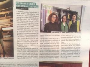 """Cliping Grande Porto : """"Eles po~em a cultura na agenda do Porto"""" (15/03/2013)"""