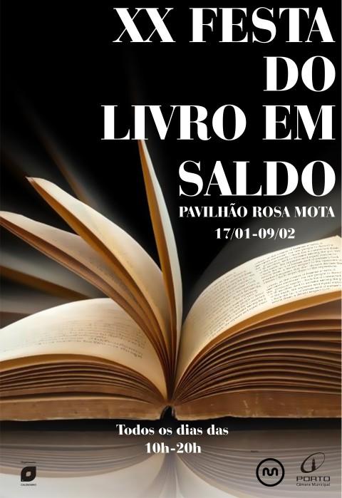 Calendário de Letras - XX Festa do Livro em Saldo